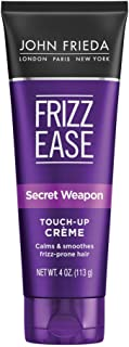John Frieda Frizz Ease Secret Weapon Touch-Up Crème, 4 Ounce Anti-Frizz Styling Cream, Helps to Calm and Smooth Frizz-prone Hair, no color (11699)