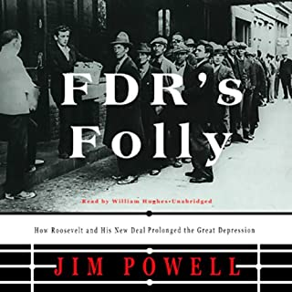 FDR's Folly audiobook cover art