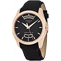 Tissot Couturier Automatic Black Dial Watch (T0354073605101)