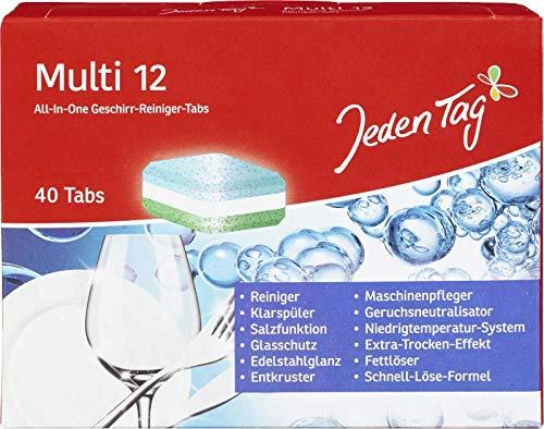 Jeden Tag Geschirr-Reinungs Tabs All in, 760 g