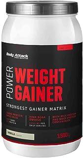 Body Attack Power Weight Gainer, 100% Masseaufbau, Kohlenhyd