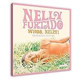 Nelly Furtado Leinwand-Poster, Motiv: Whoa, Nelly!