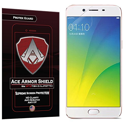 Ace Armor Shield Protek Guard Screen Protector for The Oppo F3 Plus with Free Lifetime Replacement Warranty