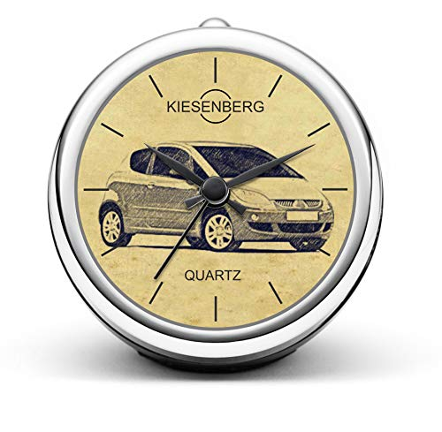 KIESENBERG Design Orologio da Tavolo Regalo per Mitsubishi Colt Z30 VI Fan Clock T-4866