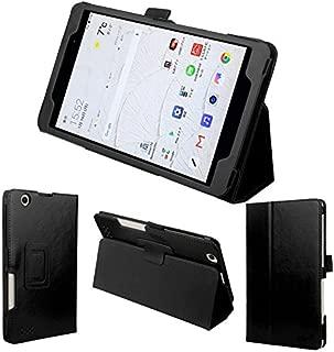 wisers 保護フィルム・タッチペン付 LG G Pad 8.0 Ⅲ LGT02 / J:COM 8インチ タブレット 専用 ケース カバー [2017 年 新型] 再改良版 ブラック
