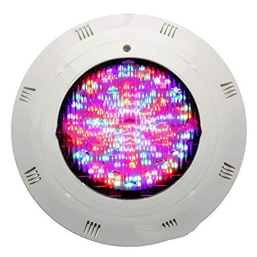 BDSHL LED Schwimmbadscheinwerfer IP 68 wasserdichte und Sichere 12V / 24V Niederspannungs-Wandleuchte, Geeignet für Farbenfrohe Farbwechsel Von Springbrunnenschwimmbädern, 3 Farben 9 Netzteil