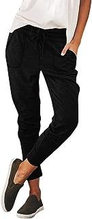 LISTHA Elastic Harem Pants Women Casual Pockets Trousers Sweatpants Pants
