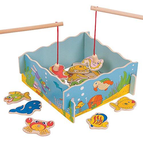 Bigjigs Toys Angelspiel aus Holz