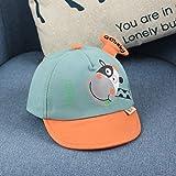 wtnhz Artículos de Moda Sombrero de bebé otoño Nuevo Super Lindo Lindo Dibujos Animados Vaca Moda Color a Juego Gorra Sombrero de bebéRegalo de Vacaciones