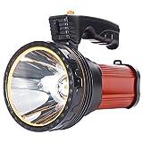 Potente linterna recargable LED AF-WAN, portátil, para hacer búsqueda,...