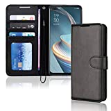 TECHGEAR Leather Wallet Case for Oppo Reno4 Z 5G (Reno 4Z