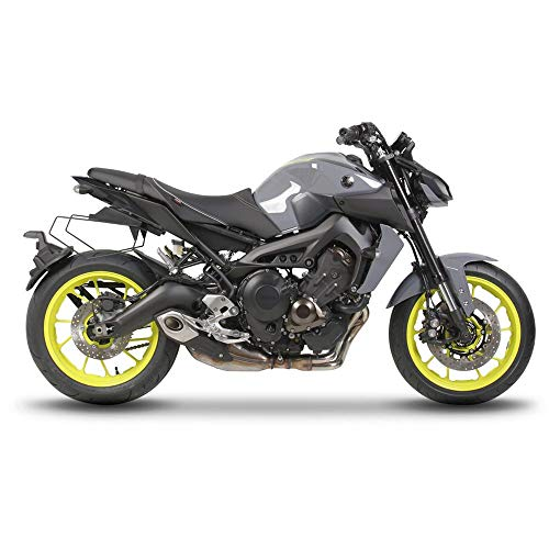 Shad Y0MT97SE Kit Fissaggio Borse Laterali Yamaha Mt09 '17, Nero, Universale