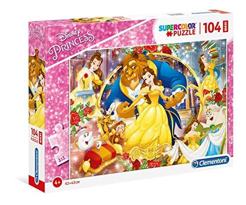 Puzzle 104 Piezas Maxi La Bella y la Bestia (23745.6)