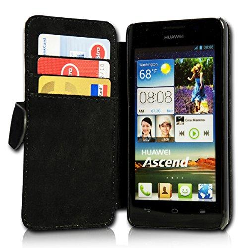 sw-mobile-shop Book Style Flip Handy Tasche Case Schutz Hülle Schale Motiv Etui für Huawei Ascend Y330 - Flip A39 Design9 - 4