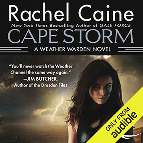 Cape Storm audiobook cover art