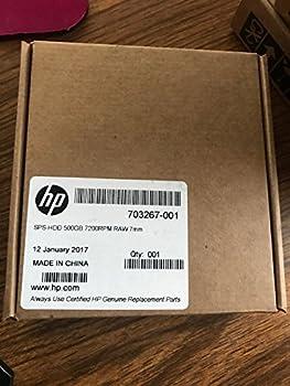 HP 500GB 7200RPM SATA Laptop 2.5  Hard Drive - 703267-001