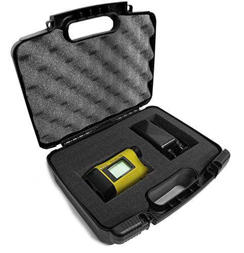 Casematix Golf and Hunting Laser Rangefinder Case Compatible with Nikon Aculon 8397 , Prostaff , Coolshot , 16228 Arrow , Forestry Pro , 8377 Riflehunter 1000 and More Range Finders with Accessories