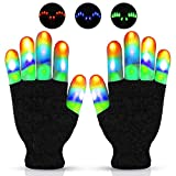 CAZON LED Gloves Toys for 10-12 Year Old Boys and Girls Light Up
