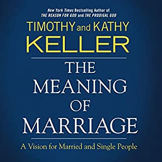 The Meaning of Marriage Audio Study audiobook cover art