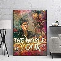 壁のポスター図の絵画ポスター装飾的な装飾カサモダーナアート絵画家の装飾写真絵画 20x30inch