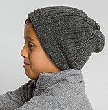 Surhilo Callao Alpaca Knit Beanie - Dark Grey - Winter Luxury Cap for Women, Men...