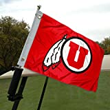 College Flags & Banners Co. University of Utah Golf Cart and Boat Flag