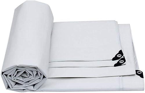 JINSH bache imperméable résistante de bache extérieure de Tente avec la Tente perforée (Couleur   A, Taille   6×4m)
