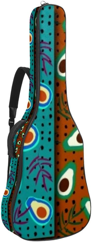 Atlanta Mall Guitar Gig Bag Max 42% OFF Waterproof Zipper Soft Bass Backpack Acou