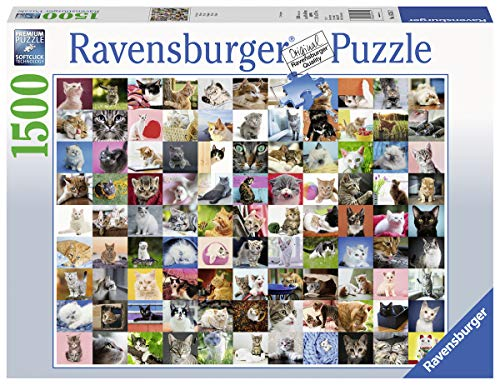 Ravensburger Puzzle 16235 - 99 Katzen - 1500 Teile
