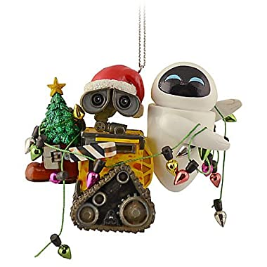 Disney Holiday Wall-E & Eve Ornament - Disney Theme Parks Exclusive & Limited Availability