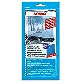 SONAX KlarSicht MicrofaserTuch (25 x 40 cm) fusselfreies Antibeschlag-Tuch schützt vor Beschlagen der Scheibe und sorgt für eine klare Sicht | Art-Nr. 04212000