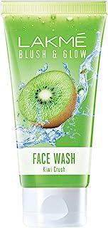 Lakme Blush & Glow Kiwi Freshness Gel Face Wash, with Kiwi Extracts, 100g