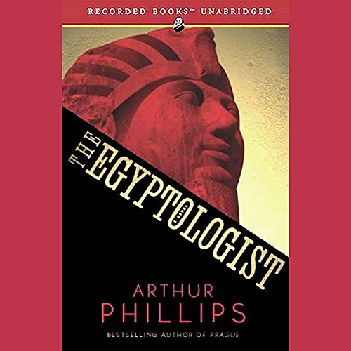 The Egyptologist audiobook cover art