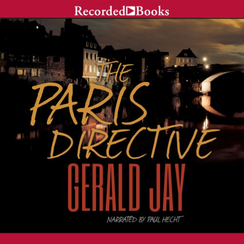 The Paris Directive audiobook cover art