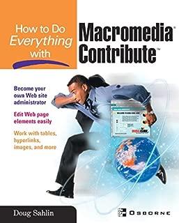 contribute macromedia