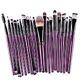 Clearance Deals Makeup Brush Set,ZYooh 2018 Professional Fashion 20pcs Make up Brushes Kits Cosmetic tools Kit Valentine Gift (E)