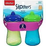 2 Paytex BPA FREE Trinklernbecher auslaufsicher easy Griff - aus den USA