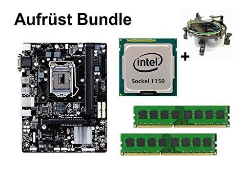 Aufrüst Bundle - Gigabyte B85M-D2V + Intel i7-4770S + 16GB RAM #94423