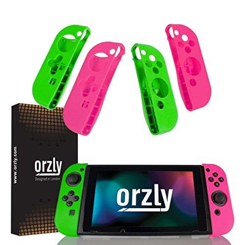 Orzly Pack de Cuatro FlexiCase mandos...