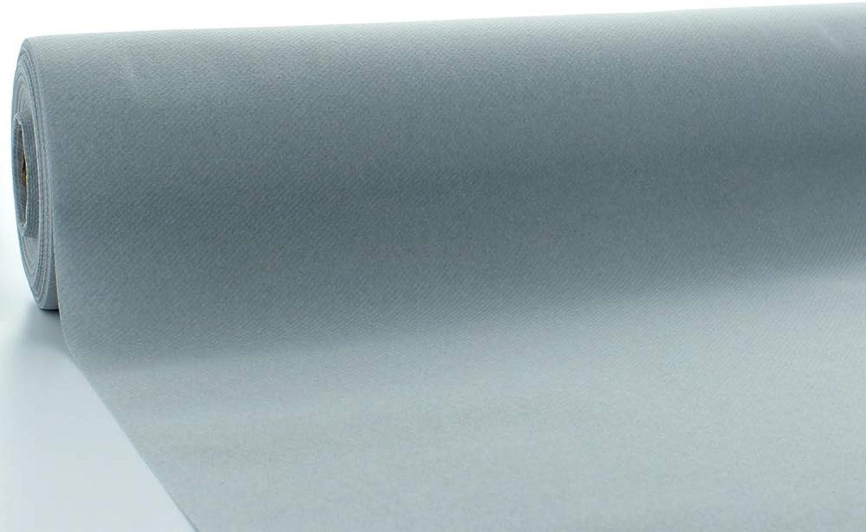 Tischdeckenrollen Uni   Rollenware 120 cm x 40 m aus Airlaid stoffähnlich   Mank Einmal-Tischdecke für Gastronomie   (Grau, 120 cm x 40 m) B07H5GSNHN