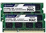 Timetec 16GB KIT(2x8GB) Compatible for Apple Late 2015 iMac (27-inch w/Retina 5K Display) DDR3L 1867MHz / 1866MHz PC3L-14900 2Rx8 CL13 1.35V 204 Pin SODIMM Memory Module MAC RAM Upgrade for iMac 17,1