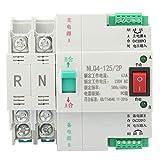 Hyuduo 2P 63/80/100A Interruptor de Palanca de Transferencia automática de Doble Potencia...