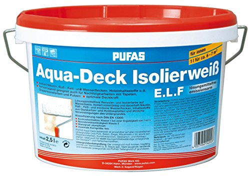 Pufas AquaDeck Isolierweiss ELF 2,500 L