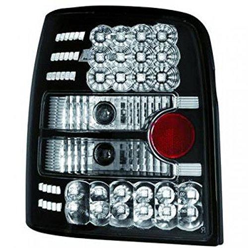 in. pro. 2245998 haute définition LED Feux arrière, Noir/Transparent