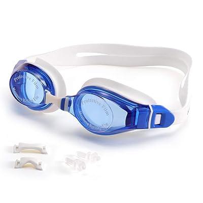 PARZIN Anti-Fog Swimming Goggles UV400 Provetiv...