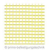1rollo/50M² tejido tela yeso de refuerzo Full calor 165g/m², color amarillo