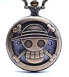 Anime Domain Reloj de Bolsillo de One Piece (A)