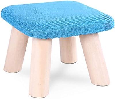 Amazon.com: Ailj - Taburete de tela para el hogar, pequeño ...