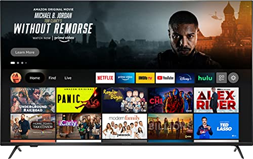 All-New Insignia NS-55F501NA22 55-inch F50 Series Smart 4K UHD QLED Fire TV, Released 2021