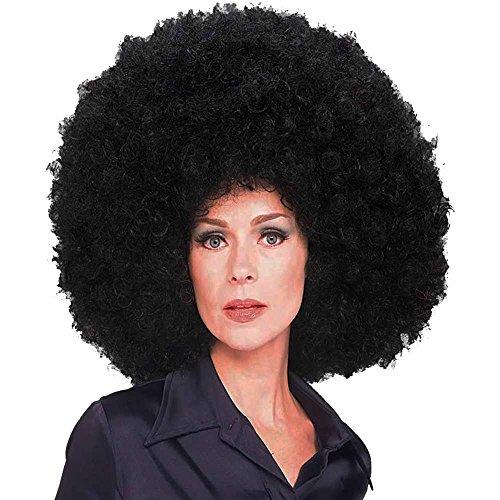 Rubie's Costume Co Oversized Afro Wig, Black, Standard